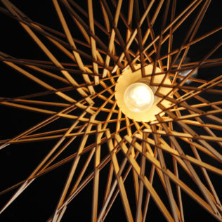 Светильник из дерева ИМПУЛЬС (Impulse)