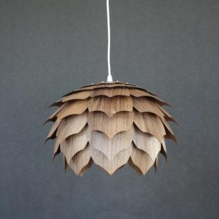 Светильник из дерева ПАНГО 2 (шпон американского ореха)