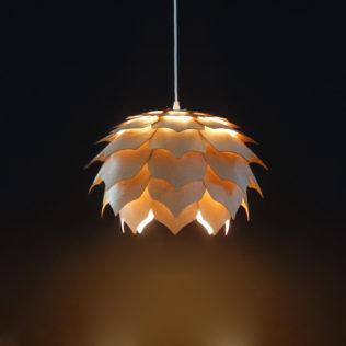 Светильник из дерева ПАНГО 2 (шпон)